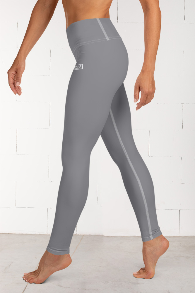 Grey Technical Leggings