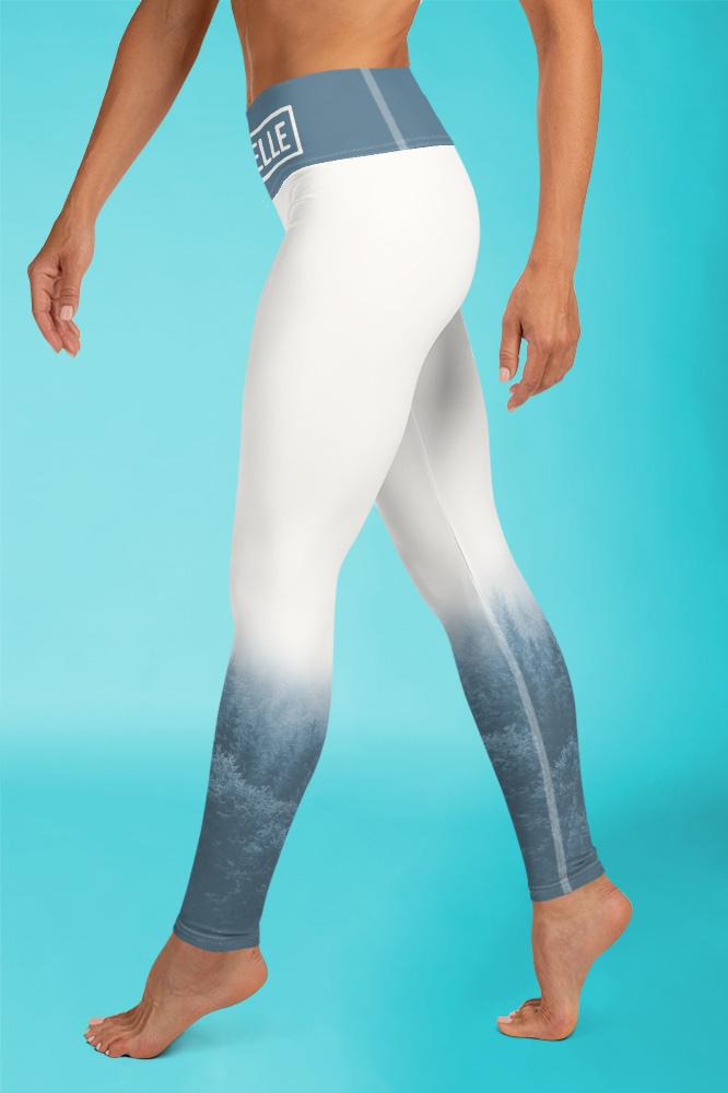 Brume | Leggings Imprimés Bleu Pastel