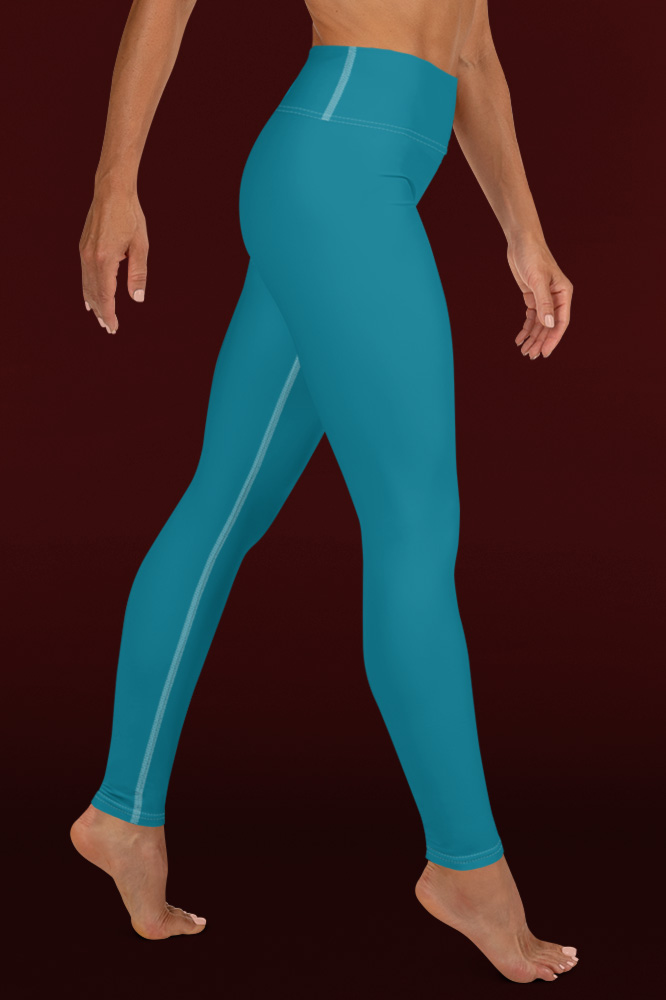 Caeruleum Blue Technical Leggings