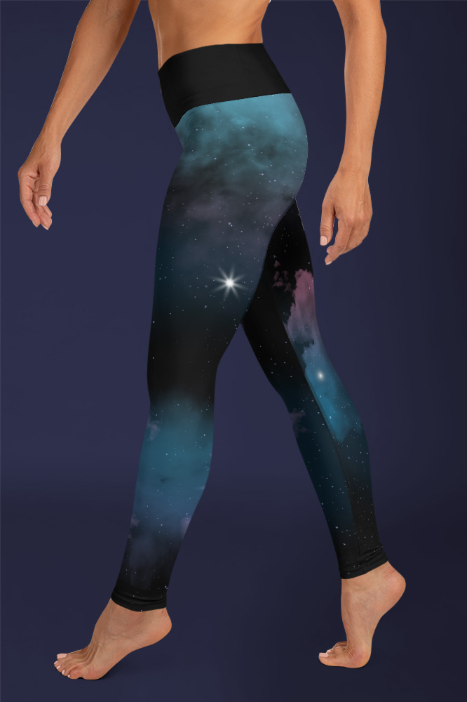 Star Cluster | Galaxy Printed Leggings