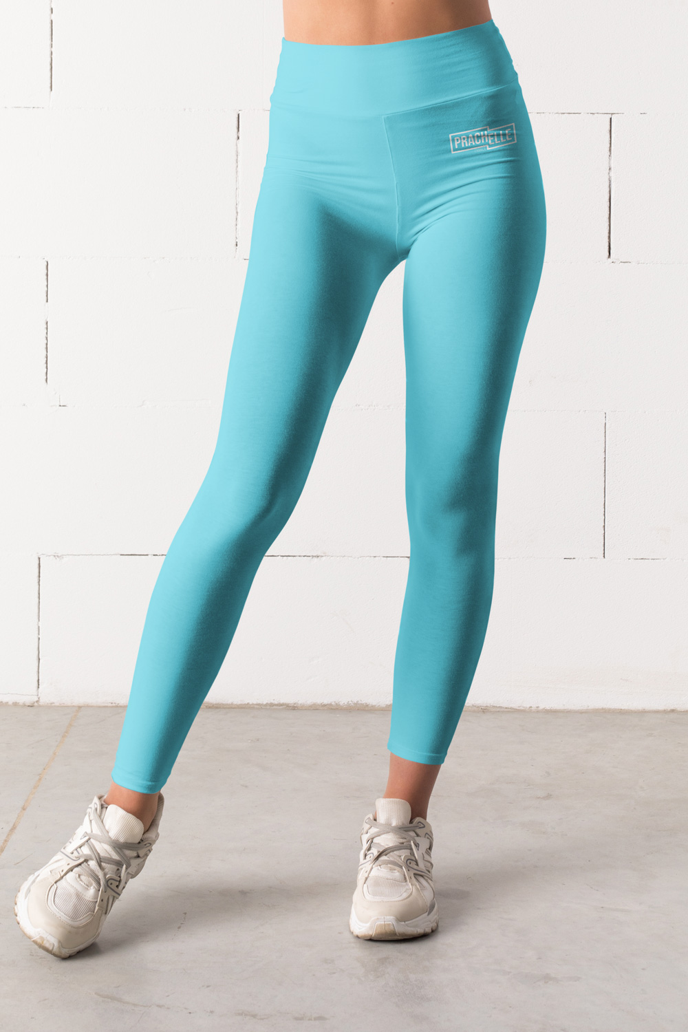 Cyan Blue Technical Leggings