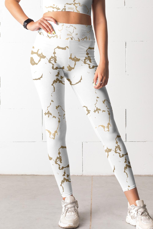 Versailles | Legging Marbre Doré