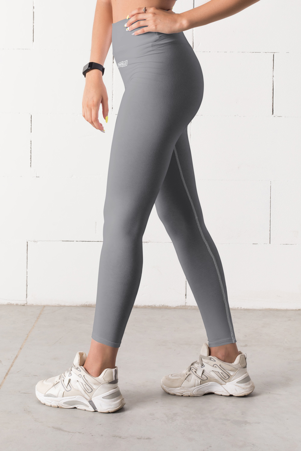 Leggings Techniques Gris uni