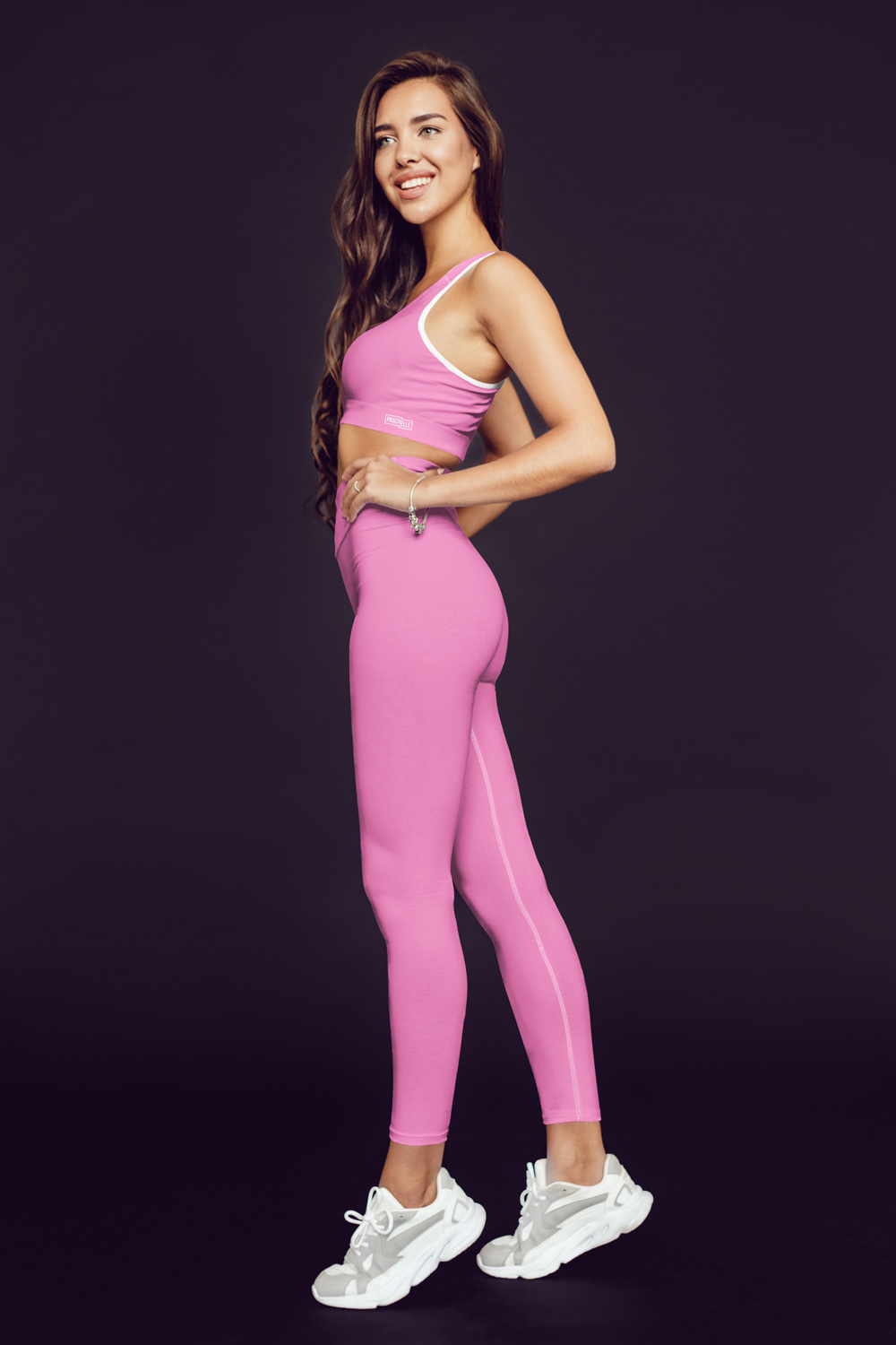 Pink Technical Leggings