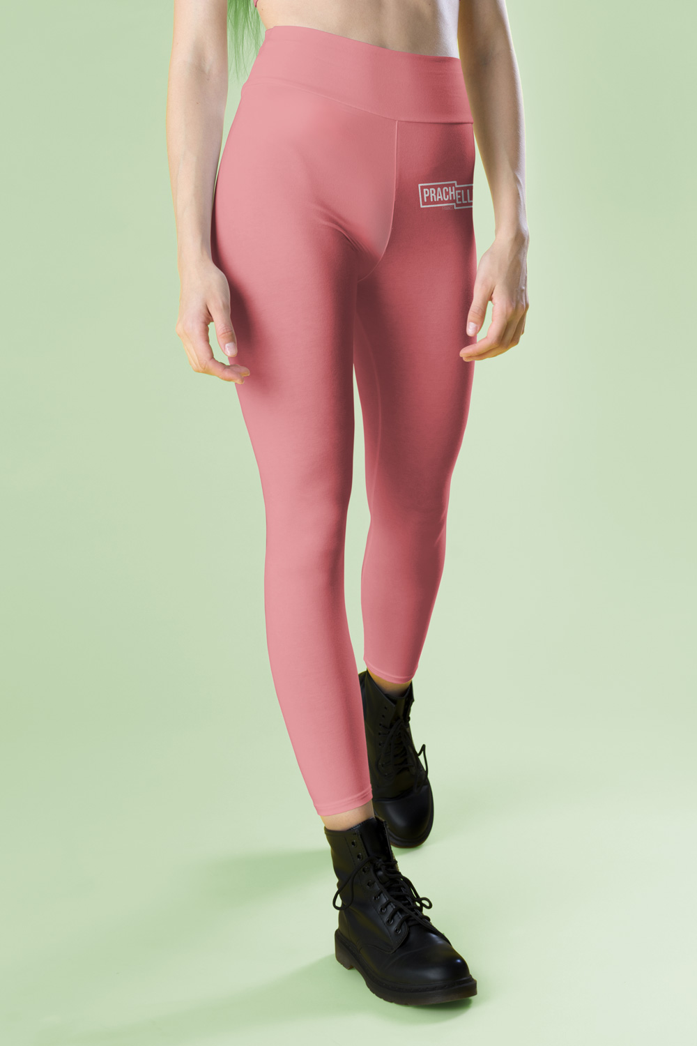 Incarnadine Pink Technical Leggings