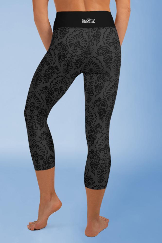 Black Royal | Black Classy Capri Leggings