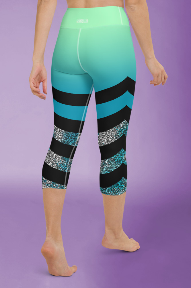 Stardust | Colorful Capri Leggings