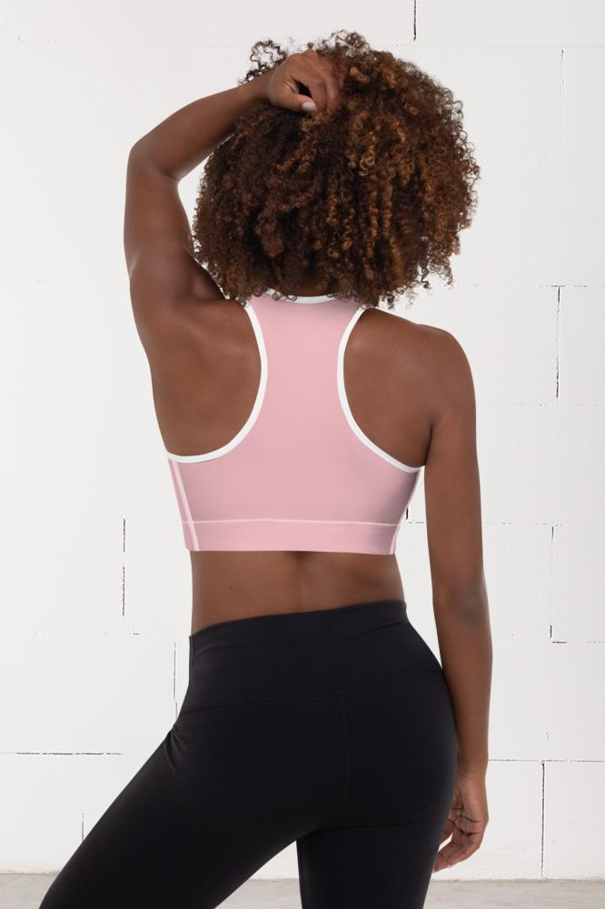 Rosée du matin | Pink Sports Bra