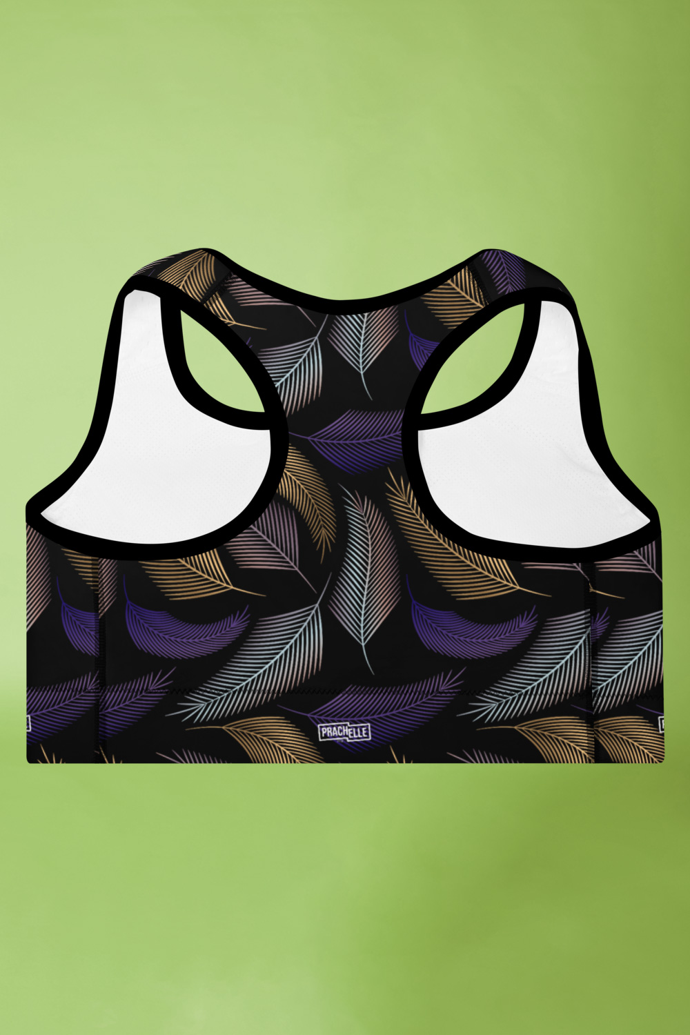 Plumes | Palm Leaves Sports Bra