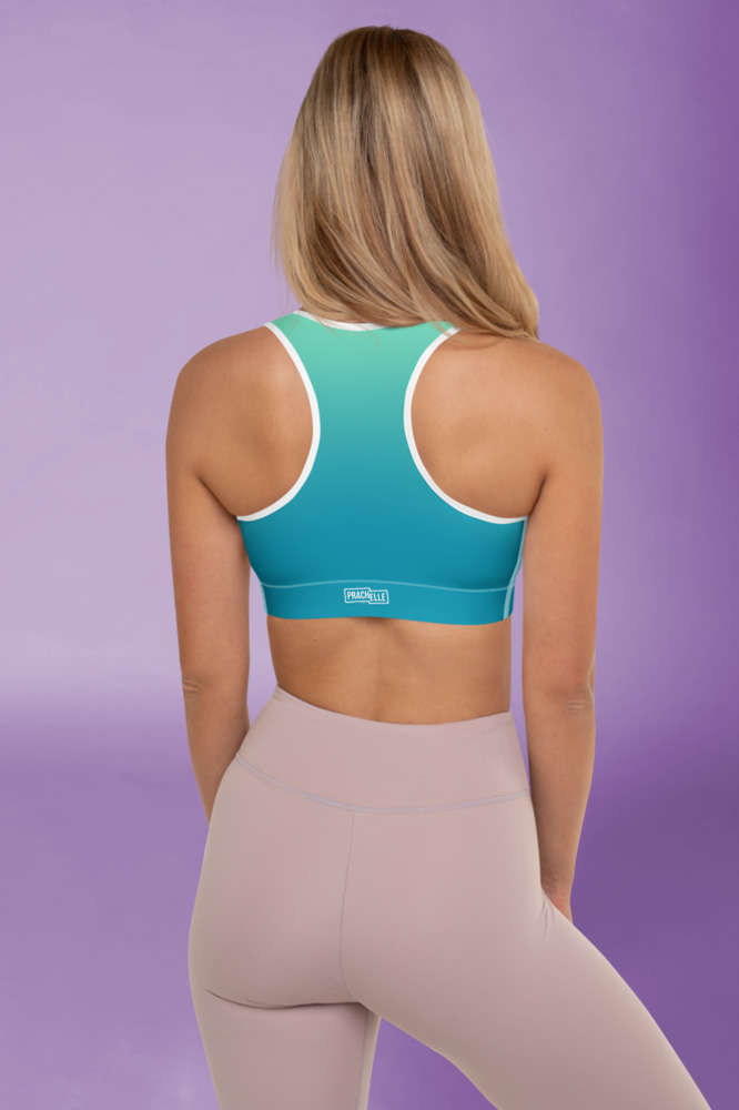 Stardust | Colorful Gradient Sports Bra