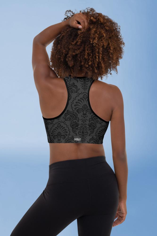 Black Royal | Black Classy Sports Bra