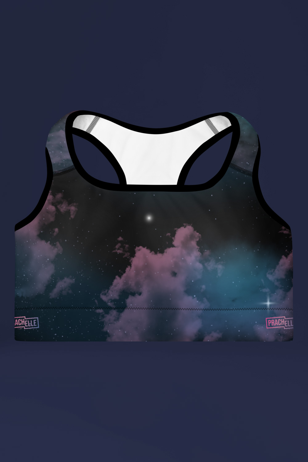 Star Cluster | Galaxy Printed Sports Bra
