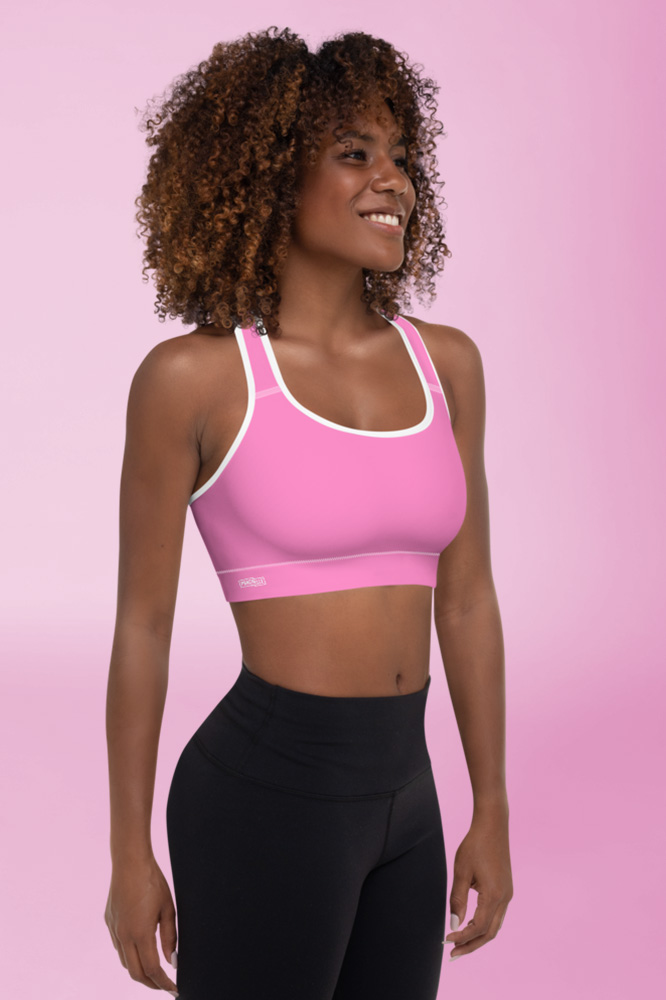 Pink Technical Sports Bra
