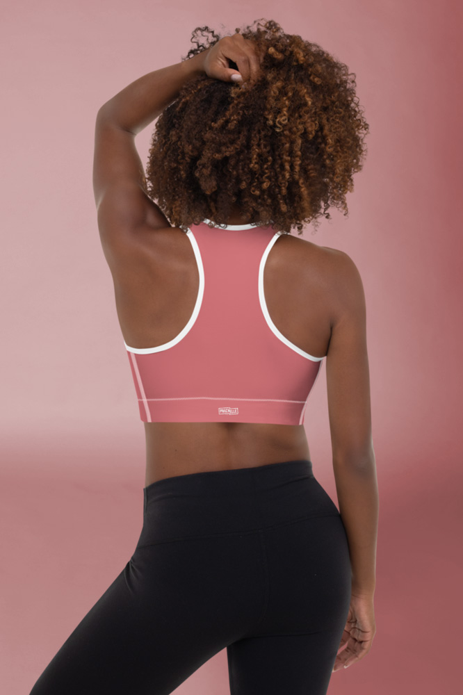 Incarnadine Pink Technical Sports Bra