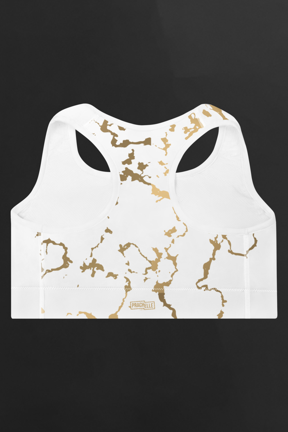 Versailles | Golden Marble Sports Bra